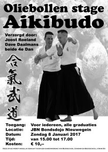 Nieuwjaarsstage Aikibudo 2017