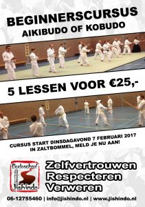 Beginnerscursus Aikibudo of Kobudo 2017